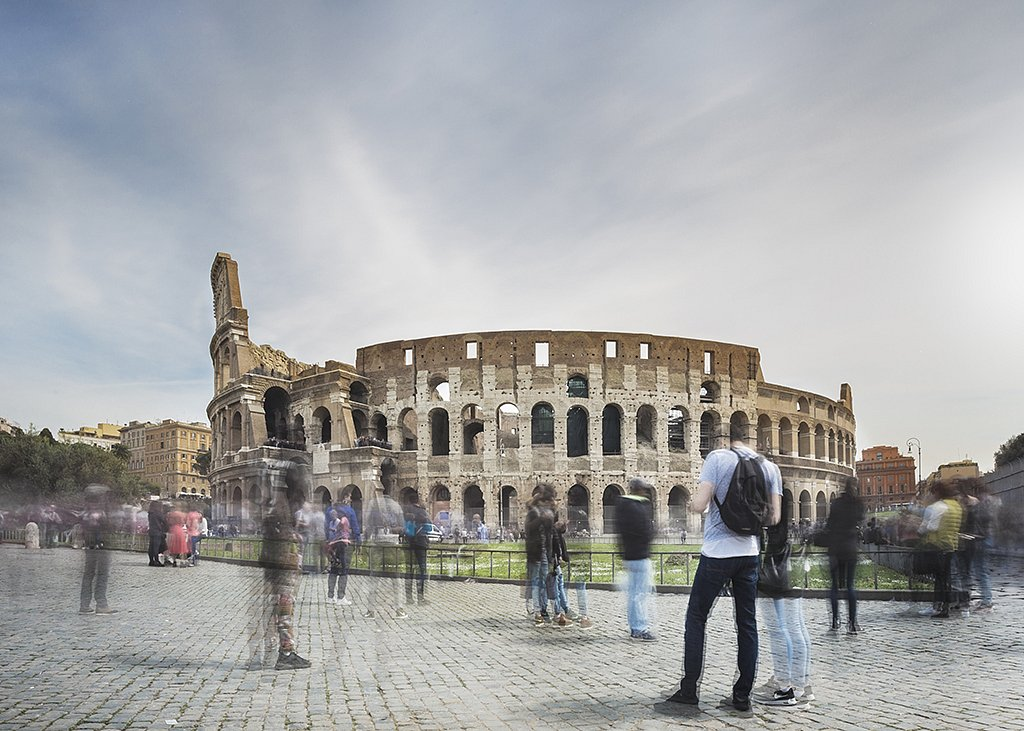 Rome - Amphitheatrum Flavium (Colosseo)